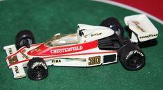 HAND BUILT 1/43 FDS CHESTERFIELD MCLAREN M23 F1 BRETT LUNGER WHITE METAL MODEL #FDS #McLaren