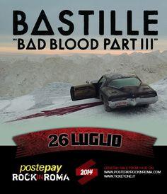 26 luglio 2014 - Bastille - Postepay Rock in Roma