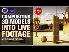 Cinema 4D Compositing Tutorial - Adding 3D Models into Footage using the Composite Background tag - YouTube