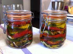 Nos bocaux de légumes d'été ☀ pour cet hiver ⛄, Recette de Nos bocaux de légumes d'été ☀ pour cet hiver ⛄ par Gabrielle  - Food Reporter Vous pouvez aussi l'offrir ;-)