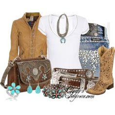 Lovin Some Cowboy Boots Contest - Polyvore