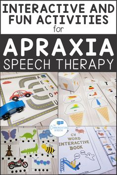 Speech Therapy Activities for Apraxia and Articulation Delays - CV words multisyllabic words CVC words initial consonant deletion Great for Preschoolers with Speech Delays and Autism Speech Therapy Autism, Preschool Speech Therapy, Speech Delay, Speech Language Therapy, Speech Therapy Activities, Speech And Language, Preschool Activities, Articulation Activities, Speech Pathology