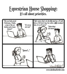 ON HORSE NATION >> The Idea of Order: Equestrian House Shopping