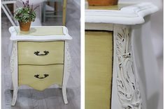 ideas en polvo: Chalk paint y ceras para envejecer un mueble