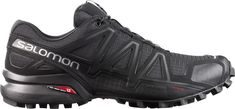 Salomon Men's Speedcross 4 Trail Running Shoes (Black, Size - Men's Outdoor Shoes at Academy Sports Trail Shoes, Trail Running Shoes, Hiking Shoes, Hiking Gear, Snow Boots, Winter Boots, Buy Boots, Black Running Shoes, Trail Running