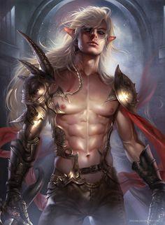 Elf Warrior by Zeilyan on @DeviantArt