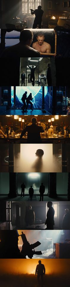 Skyfall (2012) Director: Sam Mendes. Photography: Roger Deakins.