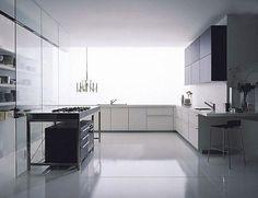 Cocina moderna en aluminio