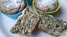 Mákos túrós muffin