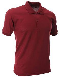 FLATSEVEN Mens Slim Polo Shirts (PS01) Wine, 2XL FLATSEVEN http://www.amazon.com/dp/B00E5887X0/ref=cm_sw_r_pi_dp_zZW2ub0VDDCBN #FLATSEVEN #Men #Slim #Polo Shirt #Fashion