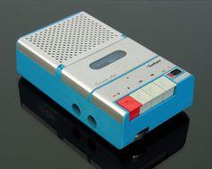 INTER cassette recorder | via vicent.zp flickr
