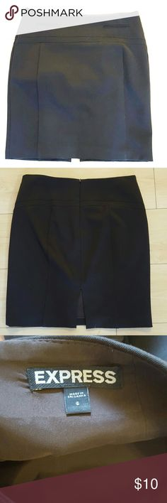 Express Work Skirt Like new condition. Never worn. Fully lined. Really well made and nice material. Express Skirts Midi