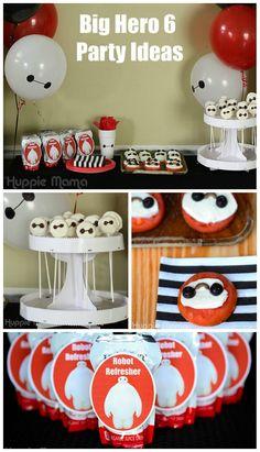 FREE Printable Big Hero 6 Cupcake Toppers Kids Parties Shared