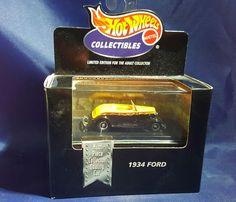 1934 Ford 34 STREET ROD Coupe 100% Hot Wheels 1998 Collectibles#26787 MATTEL NEW #HotWheels #HotWheels