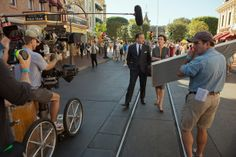 "On-location for ""Saving Mr. Banks"" in Disneyland, CA"