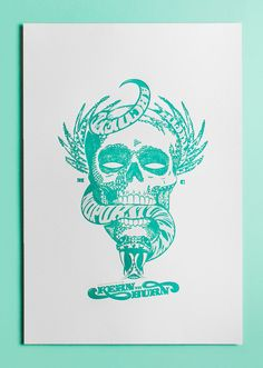 $90 - Rituals x Luke Lucas - Limited Edition of 25 - Letterpress Printed