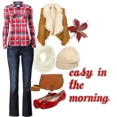 """""""Easy in the morning !"""" by adelines77 on Polyvore"""