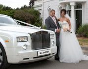 Jeyla Onal with Find a Phantom's Wedding Car http://www.findaphantom.co.uk/testimonials