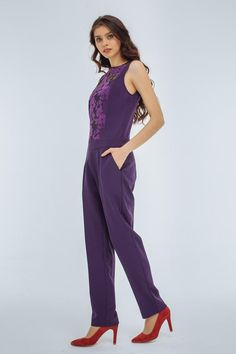 bc0b3bce981 Women lace formal handmade jumpsuit for womens with fitted pants by Nadi  Renardi