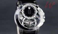 OCEAN TOURBILLON JUMPING HOUR BY HARRY WINSTON
