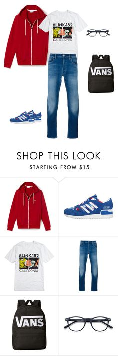 """""""fashion terrorist's before look"""" by yuri-writer on Polyvore featuring adidas Originals, STONE ISLAND, Vans, men's fashion and menswear"""