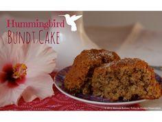 Colibri Bundt Cake // Hummingbird Bundt cake