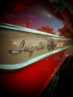Chevy Impala Super Sport for-love-of-classic-cars-and-trucks Mustang, Chevrolet Impala, 1961 Chevy Impala, Hood Ornaments, Us Cars, Super Sport, Trucks, Car Car, Motor Car
