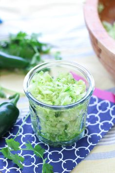 Jalapeño Cilantro Sauerkraut - Fermented Food Lab