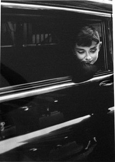 "Nothing is impossible. The word itself says ""im possible"" <3 her!. Audrey Hepburn by Dennis Stock"