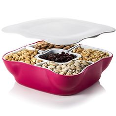Creative Multi Sectional Snack Serving Tray Set with Lid.... https://www.amazon.com/dp/B019HJJAIC/ref=cm_sw_r_pi_dp_x_D7Nlyb2QT5HVC