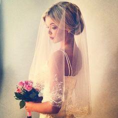 Lovely wedding veil - My wedding ideas
