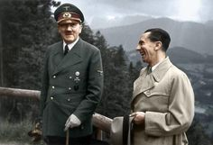 Hitler and Goebbels at Obersalzberg 1943 :39 Historic Photos With Colour Added Are Incredible♦ℬїт¢ℌαℓї¢їøυ﹩♦