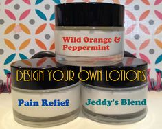 Design your own EO Lotions. SO EASY to make and would be great for gifts for the upcoming holidays.