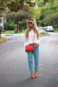 Cara McLeay - Kate Spade Bag, Saint Laurent Heels - Fab Finds.