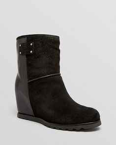 MARC BY MARC JACOBS Cold Weather Wedge Boots - Winter Warming