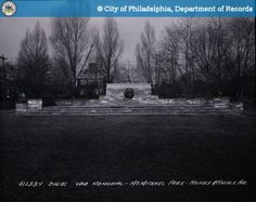 PhillyHistory.org - War Memorial - McMichael Park-Henry and Midvale A
