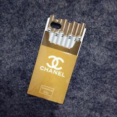 Stylish Chanel Cigarette Box Iphone 6 4.7 Iphone 6 Plus Iphone 5/5S Silicone Case  http://www.oz3ds.com/product.php?id_product=445