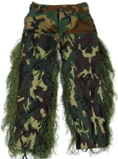 953121101fa09 Synthetic Ultra Light Sniper Leafy Green BDU Pants 2XL