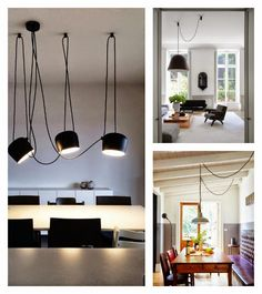 Soluciones punto de luz descentrado | Decorar tu casa es facilisimo.com