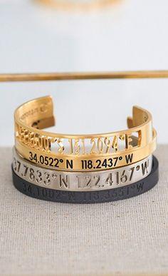 coordinate bracelets