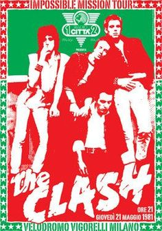 The Clash Concert Poster. (Thx Ed)