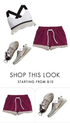"""""""M"""" by butnotperfect ❤ liked on Polyvore featuring H&M and No Ka'Oi"""
