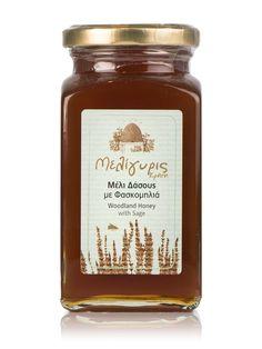 """Woodland and sage Honey from Crete """"Meligyris"""" 15.8oz"""