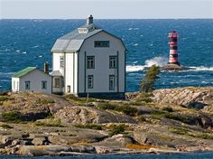 Kobba klintar - an Aland Island in Scandinavia Time Travel, Places To Travel, Places To Visit, Photography Reviews, Digital Photography, Baltic Sea, Archipelago, Lighthouse, Places Ive Been