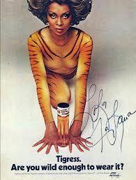 Tigress perfume with Lola Folana. My fragrance in the  '70's!