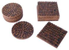 DIY. Ideas para decorar con granos de café. | Mil Ideas de Decoración