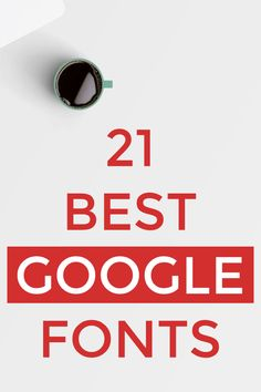 The font you're using on your #blog, #design project, or #business website should be easy to the reader's eyes and make the reading as convenient as possible.  Here are my top 21 picks for Best Google Fonts to use in 2019 and beyond.  #Blogging #WordPress Web Design, Blog Design, Design Ideas, Graphic Design, Business Fonts, Branding Your Business, Best Google Fonts, Google Font Pairings, Party Font