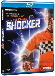 Du très grand Wes Craven remastérisé #Shocker #Studiocanal  DVD et blu-ray : L'électro-choc de Wes Craven