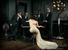 MUSIC'S CONTRAPTION Fashion & Faces Photography on plexiglass Cobra Art Company