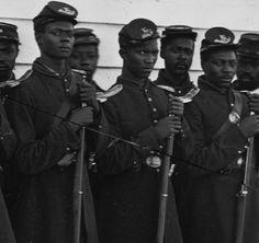 black civil war union soldiers